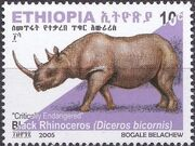 Ethiopia 2005 Black Rhinoceros b