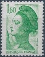 France 1982 Liberty after Delacroix (2nd Issue) a