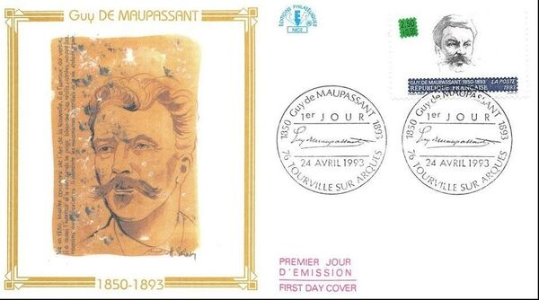 France 1993 Writers FDCa