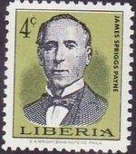 Liberia 1967 Liberian Presidents a