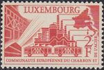 Luxembourg 1956 4th Anniversary of the Establishment in Luxembourg of the Headquarters of the European Coal and Steel Community a