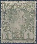 Monaco 1885 Prince Charles III a