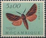 Mozambique 1953 Butterflies and Moths p
