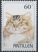 Netherlands Antilles 1995 Domestic Cats b