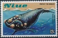 Niue 1983 Protect the Whales a