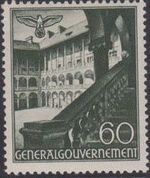 Poland-General Government 1940 Buildings (1st Group) j