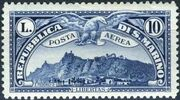 San Marino 1931 Air Post Stamps j
