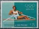 San Marino 1960 17th Olympic Games in Rome h