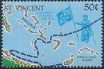 St Vincent 1989 500th Anniversary of Discovery of America 1992 f