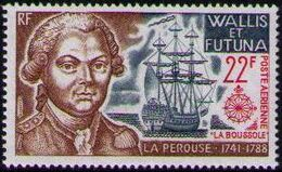 Wallis and Futuna 1973 Explorers and their Ships a