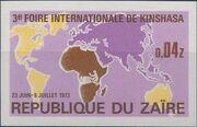Zaire 1973 3rd International Fair in Kinshasa d