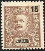 Zambezia 1898 D. Carlos I d