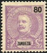 Zambezia 1898 D. Carlos I i