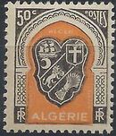 Algeria 1947 Coat of Arms (1st Group) e