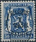 Belgium 1938 Coat of Arms - Precancel (1st Group) f