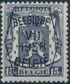 Belgium 1938 Coat of Arms - Precancel (7th Group) a