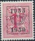 Belgium 1955 Heraldic Lion with Precancellations g