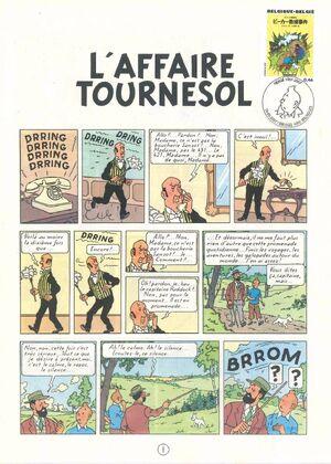 Belgium 2007 Tintin book covers translated zaq
