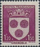 France 1942 Coat of Arms (Semi-Postal Stamps) e
