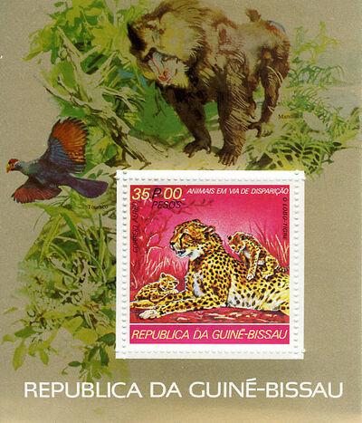 Guinea-Bissau 1978 Endangered Species m