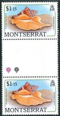 Montserrat 1988 Sea Shells gk