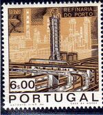 Portugal 1970 Opening of the Oil Refinery in Porto d