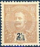Portuguese India 1903 D. Carlos I - New Colours and Values d