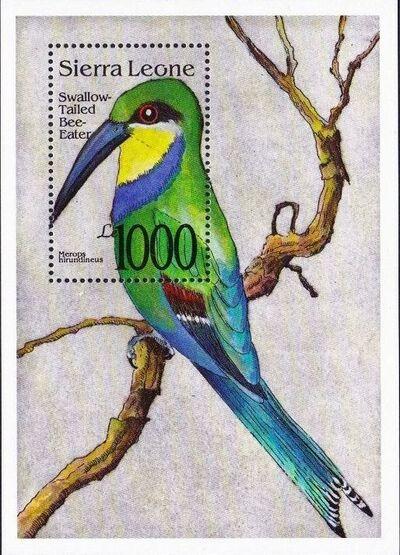 Sierra Leone 1992 Bird's Heads Sb