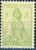 St Thomas and Prince 1934 Ceres - New Values q