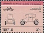 Tuvalu 1985 Leaders of the World - Auto 100 (2nd Group) g