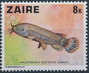 Zaire 1978 Fishes d