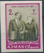 Ajman 1964 President Kennedy m