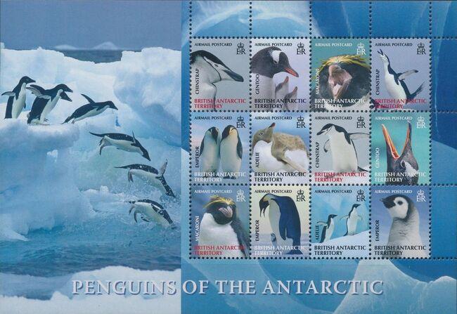 British Antarctic Territory 2008 Penguins of the Antarctic Sa