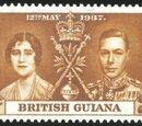 British Guiana 1937 George VI Coronation