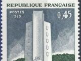 France 1969 25th Anniversary of the Battle of Mt. Mouchet