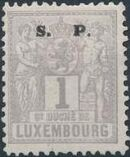 Luxembourg 1882 Industry and Commerce Overprinted a