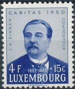 Luxembourg 1950 Jean Antoine Zinnen c