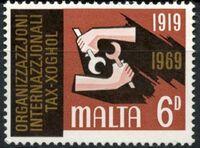 Malta 1969 ILO Organisation b