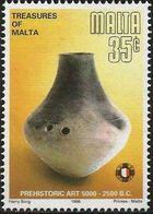 Malta 1996 Prehistoric Art d