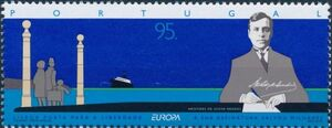 Portugal 1995 Europa - Peace and Freedom a