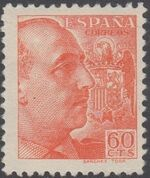 Spain 1939 General Franco - 1st Group f