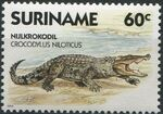 Surinam 1988 Alligators and Crocodiles b