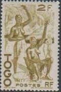 Togo 1947 Native Scenes h
