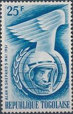 Togo 1962 Astronauts of 1961 c
