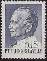 Yugoslavia 1967 75th Birthday of President Tito c