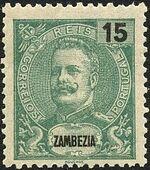 Zambezia 1903 D. Carlos I a