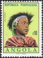 Angola 1961 Native Women from Angola a
