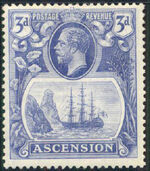 Ascension 1924 Seal of the Colony e