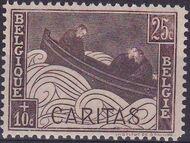 Belgium 1927 Anti Tuberculosis - Boat Adrift a