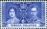 British Virgin Islands 1937 George VI Coronation c
